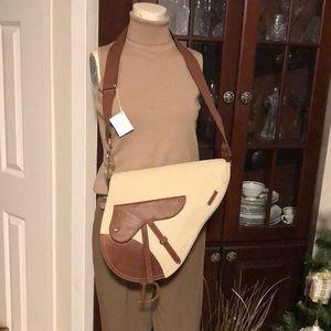 Christian Dior Saddle Travel Cross Body Bag